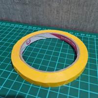 Bag Sealing Tape Daimaru 9mm x 50 yard YELLOW