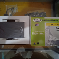 case external hdd hardisk ata 2.0
