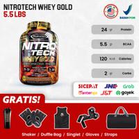 Muscletech Nitrotech Whey Gold 5,5 Lbs Nitrotech Whey Gold - CHOCOLATE
