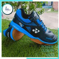 Sepatu Bulutangkis Badminton Yonex Power Cushion 65 Z2 Hitam Biru - 39