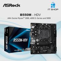 Motherboard Asrock B550M-HDV - AMD AM4