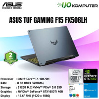 ASUS TUF GAMING F15 FX506LH i7-10870H 8GB 512GB GTX1650 4GB W10 OHS