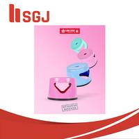 Bangku Bulat Kramik Lionstar Bangku Jongkok Bangku Plastik - Biru