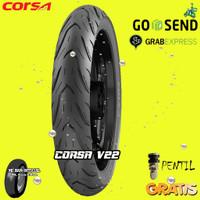 BAN MOTOR MATIC CORSA V22 PLATINUM 80/90 RING 14 TUBELESS