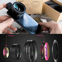 AUKEY PL WD 07 Lensa Macro & Super Wide Angle CPL filter