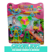 Mainan Anak Taman Bermain Barbie Large PX 8032-2