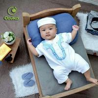 OZK Romper Jumper Koko Bayi Koko Turki Bayi Baju Aqiqah Bordir Newborn