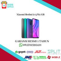 Xiaomi Redmi 9 4/64 Ram 4GB Internal 64GB Garansi Resmi Indonesia
