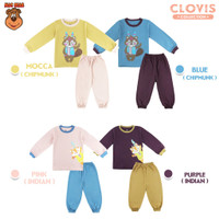 MacBear Baju Anak Laki-laki Piyama Setelan Clovis Chipmunk & Indian