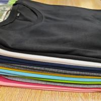 Kaos Polos Soft Premium PE / Polyester Netral - Hitam, M