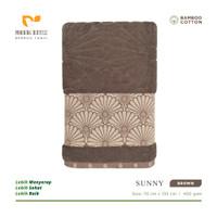 Handuk Morning Whistle Bamboo Towel SUNNY / Handuk Mandi 70 x 135 cm
