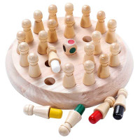 JKLMOON Board Game Edukasi Anak Memory Match Color Stick