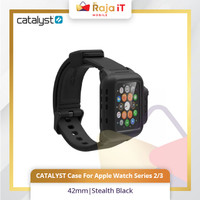 CATALYST Case For Apple Watch Series 2/3 42mm Stealth Black