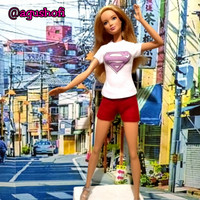 Kaos/T-shirt Supergirl series skala 1/6