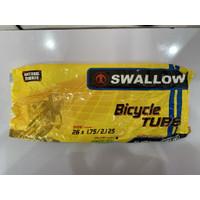 Ban Dalam Dalem Sepeda Swallow 26 x 1.75 / 2.125 Valve Pentil Inggris