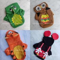 Baju kaos kostum hoodie anjing kucing hewan pet dog clothes costume