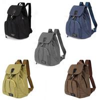 TR5 Tas Ransel Backpack Wanita Kanvas sekolah slingbag sling bag cewek