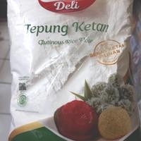 tepung beras ketan putih bola deli 500 gram