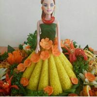Sale Cetakan Tumpeng Barbie Bahan Aluminium Berkualitas Berkualitas