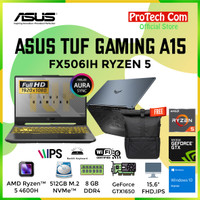 ASUS TUF GAMING A15 FX506IH RYZEN 5 4600H 8GB 512GB GTX1650 4GB W10