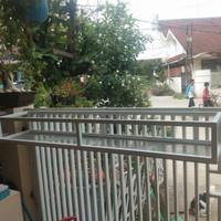 Gantungan Pot Panjang Besi - Rak Pot Bunga Gantung Pagar Rumah