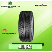 Ban Mobil ACCELERA ALPHA 185 55 R14 - Bukan GT Radial Achiles Dunlop