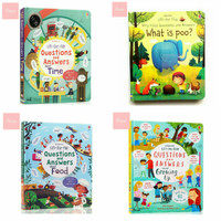 USBORNE LIFT THE FLAP QUESTION AND ANSWER BEDTIME STORY ACTIVITY BOOK