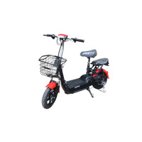 Jarvis 1+ Sepeda Listrik (Merah)