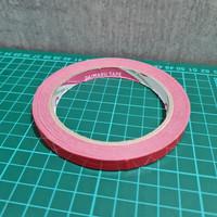 Bag Sealing Tape Daimaru 9mm x 50yard RED