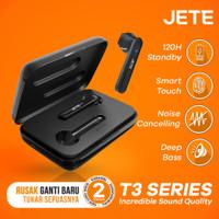 TWS Jete T3   Handsfree Bluetooth TWS JETE T3 - Original Garansi Resmi