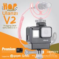 ULANZI V2 Vlogging Case GoPro Hero 7 Black Vlog Casing Hero 5 6 Frame