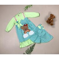 baju muslim anak cewek baju gamis anak bayi perempuan lucu