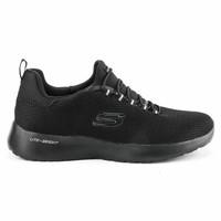 Skechers Sport Dynamight sepatu running pria full hitam original 29GS