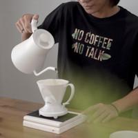 Kaos Kopi No Coffee No Talk T-shirt Barista