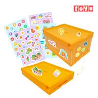 Toyu Box Lipat Serbaguna Kotak Penyimpanan  Kotak Lipat   Folding Box