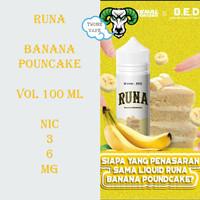 Liquid Runa Banana Poundcake 100ML By Zaenal Vaporizer x BED