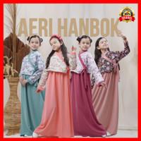 setelan busana muslim baju gamis anak perempuan bahan katun Jepang