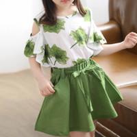 baju setelan anak perempuan 4 - 8 tahun