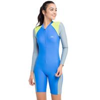 Opelon Ladies Diving Suit - Blue Size M