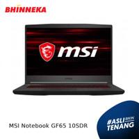 MSI Notebook GF65 10SDR/Intel Core i7/8GB/512GB/Windows 10 Home ORI