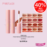 (READY & ORI) Pinkflash Pink Flash Kiss Air Matte Liquid Lipstick M01