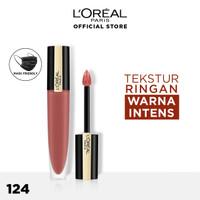 L'Oreal Paris Liquid Lipstick Matte Rouge Signature Make Up - 124
