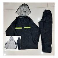 Mantel Hujan Sepasang/Jas Hujan Baju+Celana Dws IMPORT TEBAL (Lida)