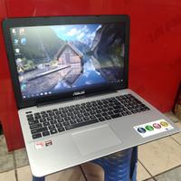 laptop asus x555bp amd a9-9420 ram 4 gb ssd 120 gb hdd 500 gb dual VGA