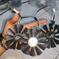 fan vga GTX RX ASUS Strix 87mm Tripel Fan 6pin 5pin 4pin