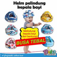 Helm Bayi Anti Bentur / Topi Pelindung Kepala Bayi / Baby Head Protect