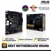 ASUS TUF Gaming B550M-Plus AMD AM4 B550 Micro ATX Gaming Motherbord