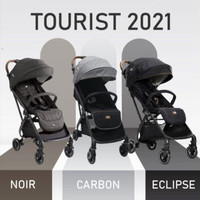 Stroller Joie Tourist Flex Signature Auto Fold / Kereta Dorong Bayi - Carbon