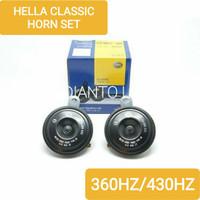 KLAKSON MOBIL DATSUN GO DISC - CLASSIC HORN SET 12V 360HZ/430HZ