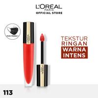 L'Oreal Paris Liquid Lipstick Matte Rouge Signature Make Up - 113